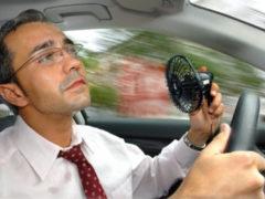Советы водителям в жару