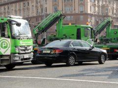 МАДИ будет чаще эвакуировать машины со снятыми номерами
