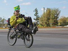 Как лишают «прав» за обгон велосипедиста