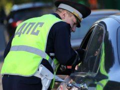 Как гаишники штрафуют водителей за движение задним ходом