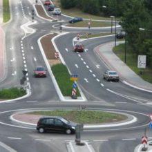 По какой полосе выгоднее всего проезжать перекресток с круговым движением