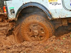 Как ГИБДД штрафует водителей за грязные колеса