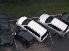 Как ГИБДД штрафует за стоянку на официальных парковках
